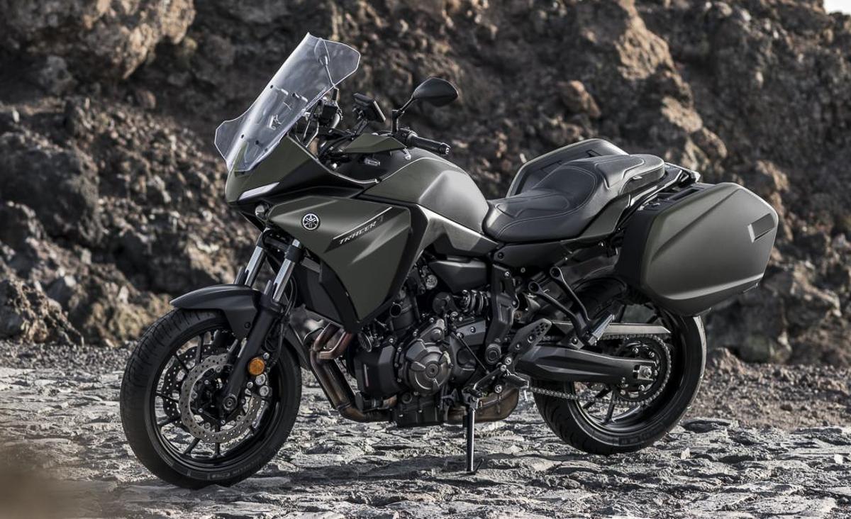 Yamaha Tracer 7 GT 2021 phiên bản Sport Touring ra mắt cộng đồng đi tour