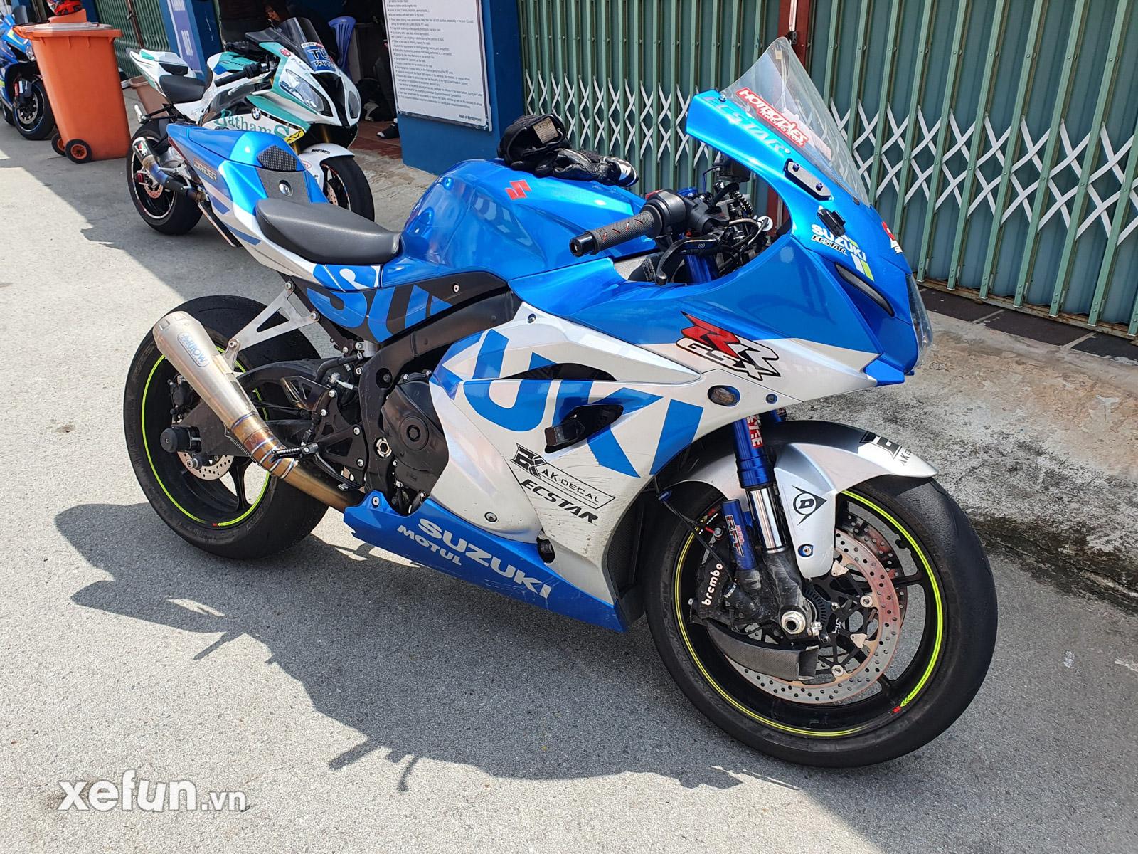 Suzuki GSX-R1000 phá kỷ lục vòng chạy nhanh nhất Việt Nam của Kawasaki Ninja ZX10R