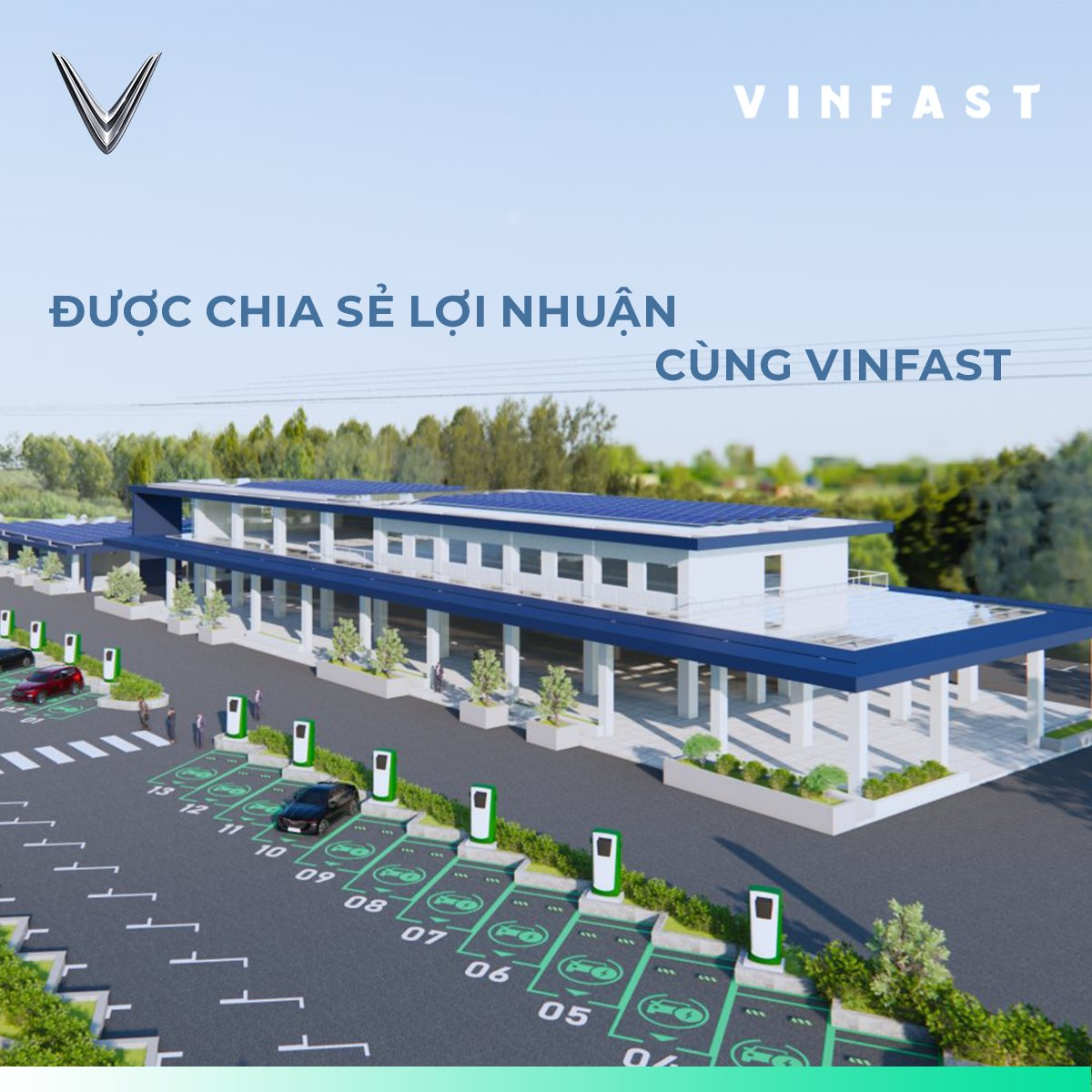 Cách đăng ký làm đối tác đặt trạm sạc xe điện VinFast 4565