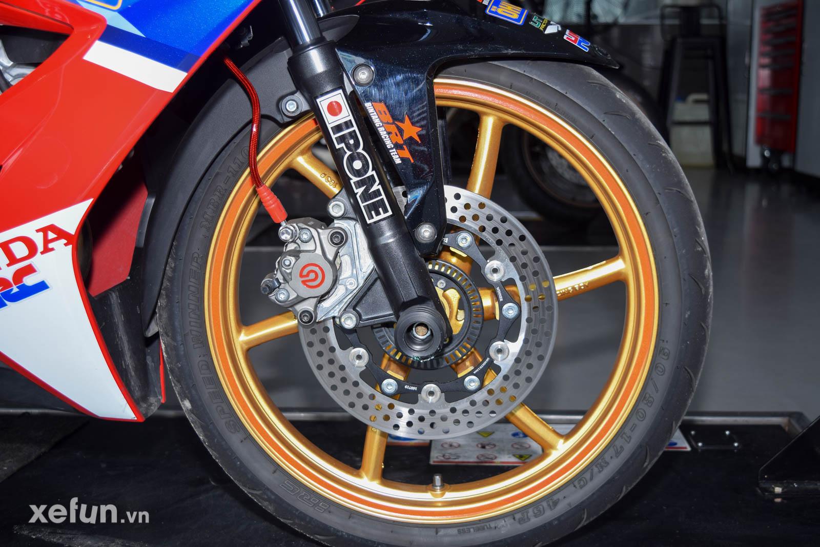 Heo brembo 2 pis Honda Winner X 2021 độ track_xefun