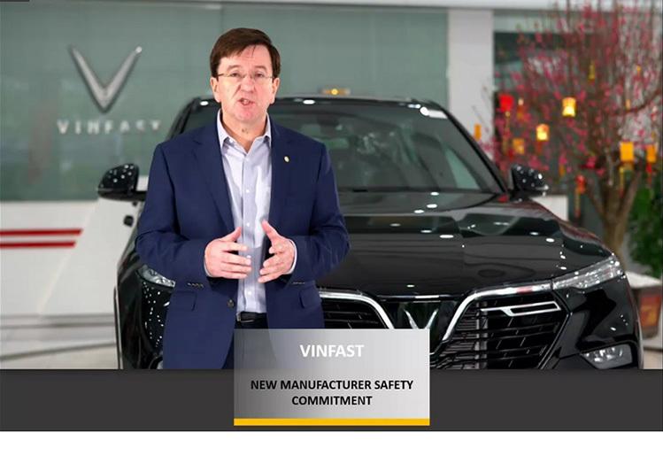 Ông Kevin Yardley, Phó Tổng giám đốc phụ trách Nghiên cứu và Phát triển của VinFast.
