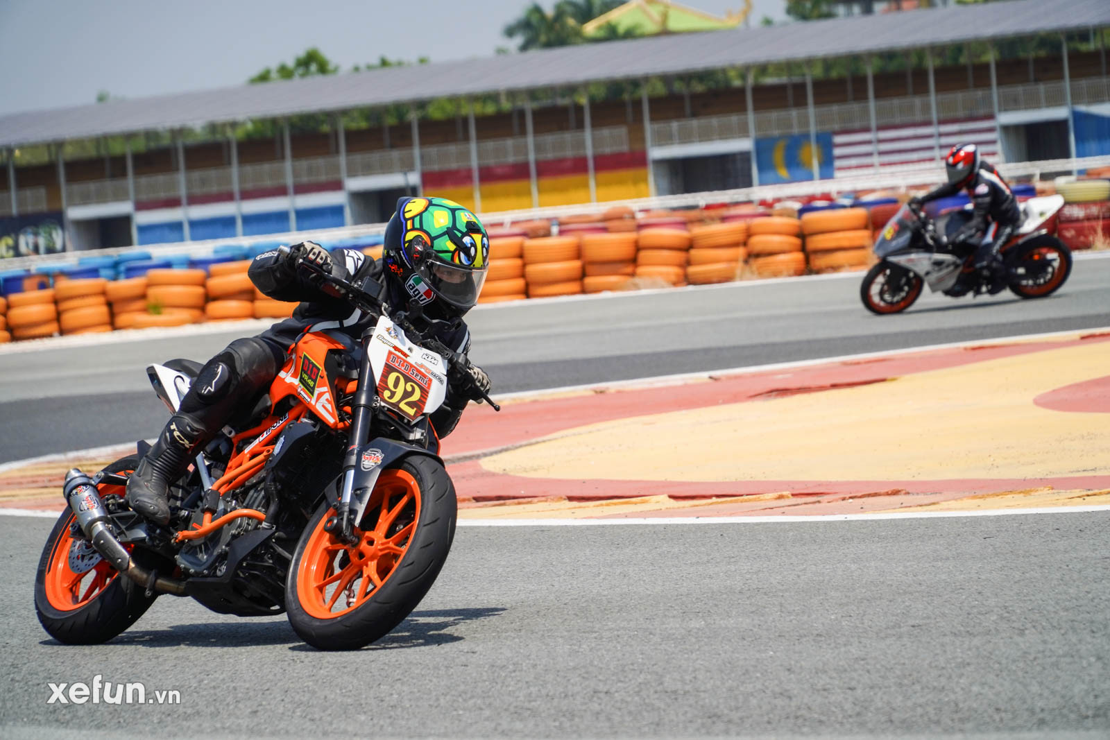 Mạch Quang Thông Reviewer tham gia giải đua 250cc 400cc DID Challenge Cup 2021 trên Xefun (14)43565