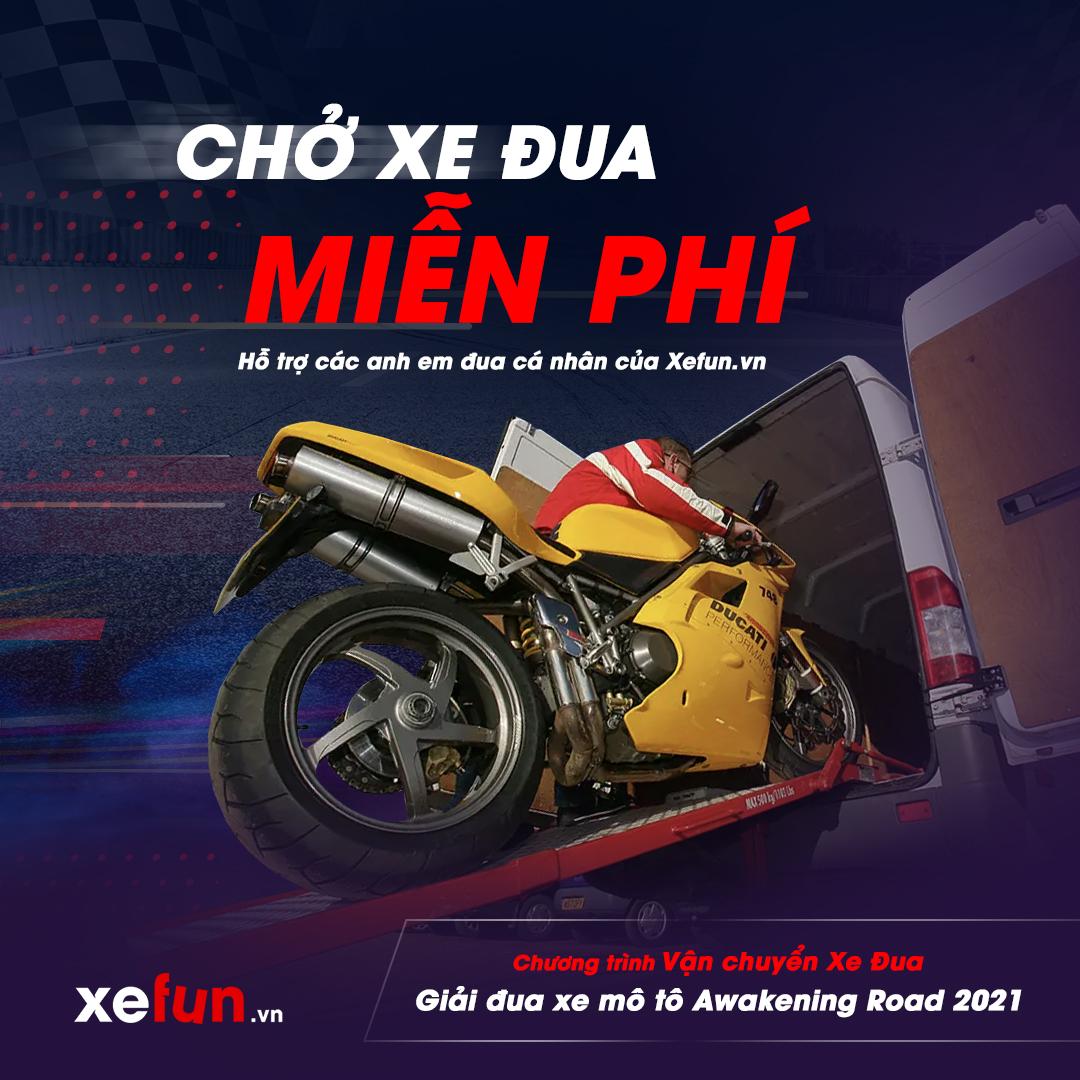 Chương trình Hỗ trợ vận chuyển chở Xe Đua giải đua xe môtô Awakening Road 2021 của Xefun - 2