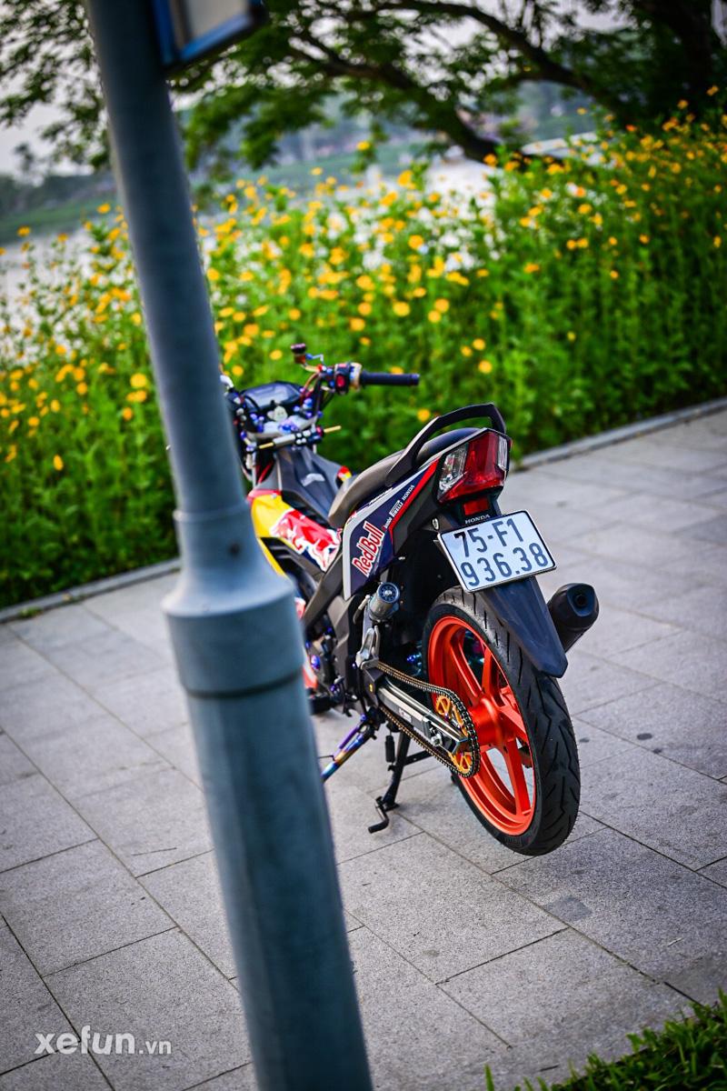 Honda Sonic 150 độ _ Honda sonic redbull - Xefun-2