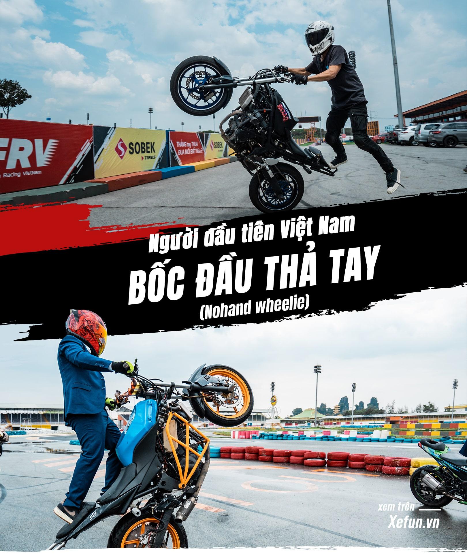 Hanoi Stunt Riders biểu diễn Trường đua Đại Nam giải đua Awakening road trên Xefun - 834t4t5