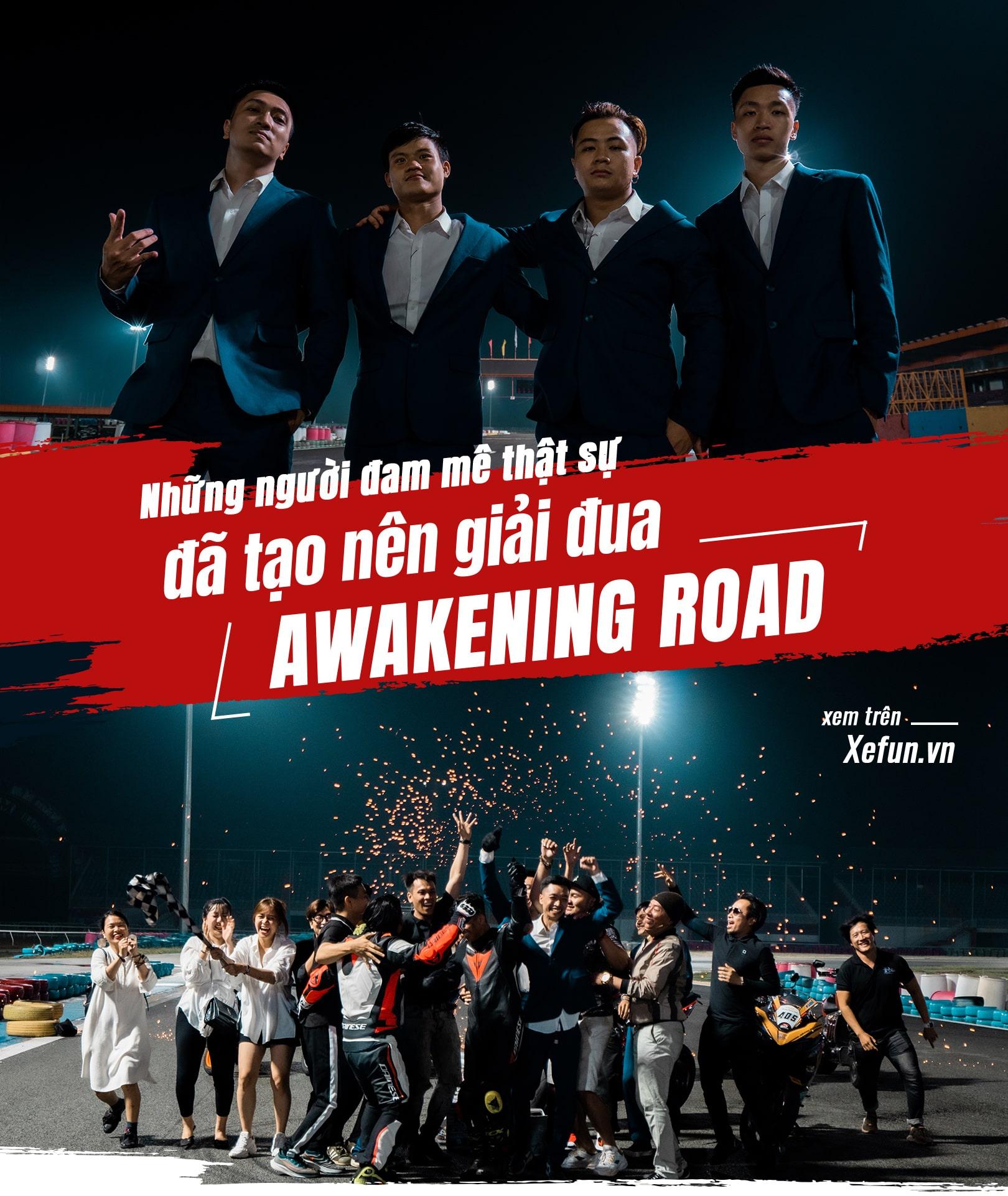 Hanoi Stunt Riders biểu diễn Trường đua Đại Nam giải đua Awakening road trên Xefun - 83445