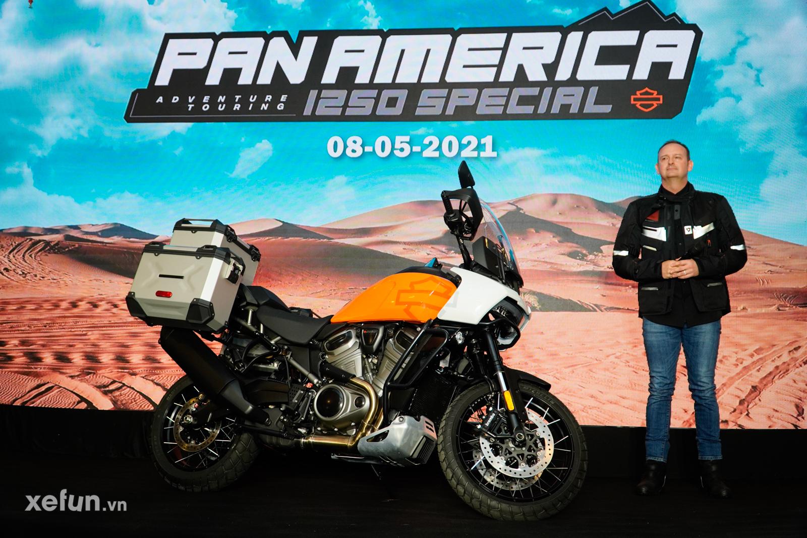 Ra mắt Harley Davidson Pan America 1250 Special đầu tiên tại Việt Nam #Xefun #HarleyDavidson #PanAmerica