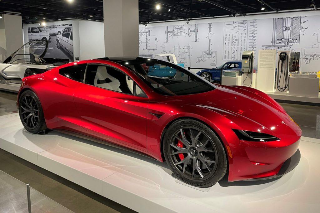 Siêu xe điện Tesla Roadster SpaceX tăng tốc 0-96 km/h chỉ trong 1,1 giây trên Xefun - 3456