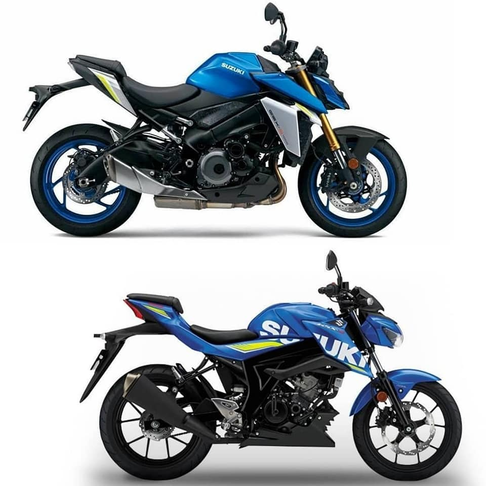 Suzuki GSX-S1000 và GSX-S150_2021_Xefun