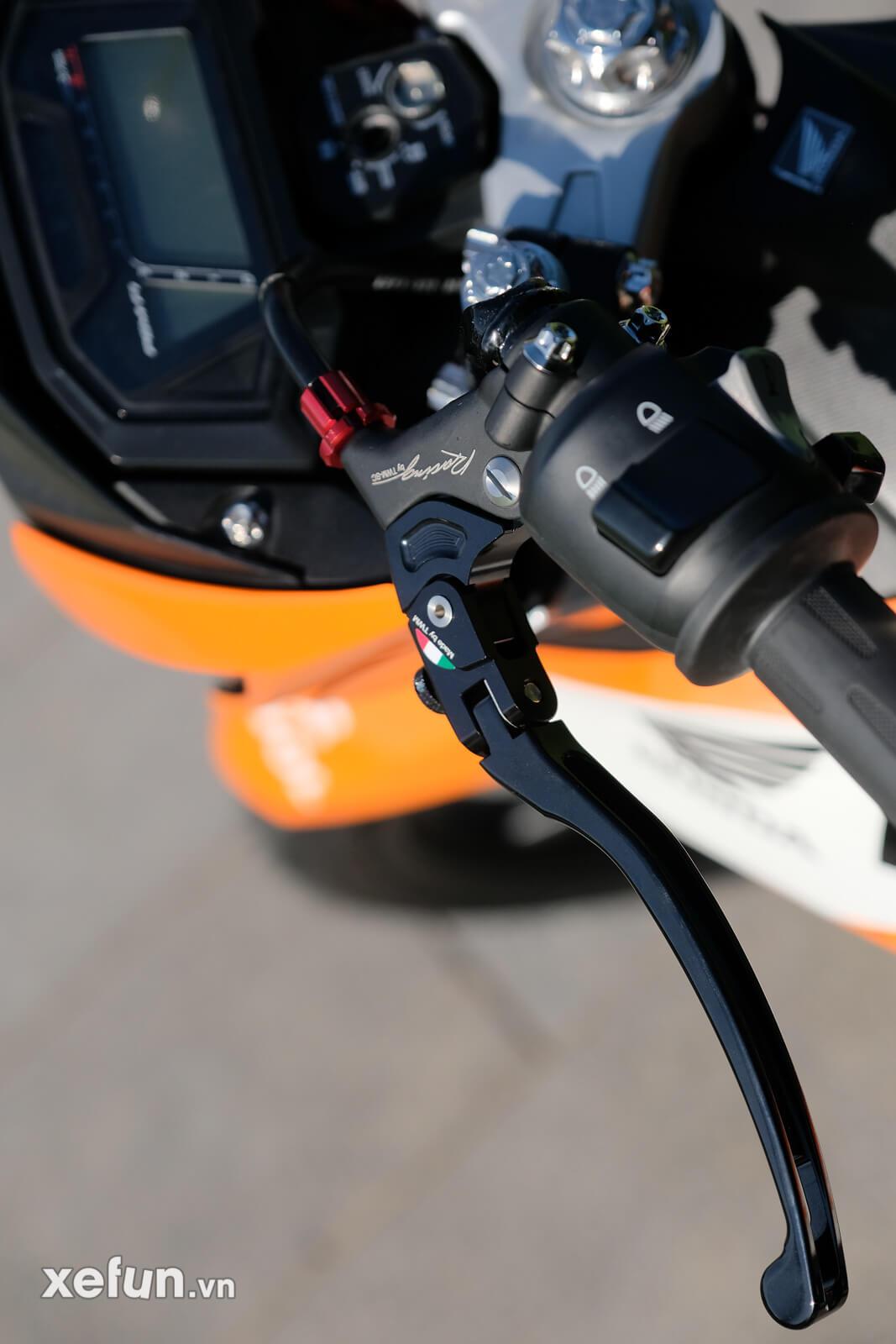 Honda sonic 150r độ trái 65 + 4 giá hơn 80 triệu đồng Xefun - 456