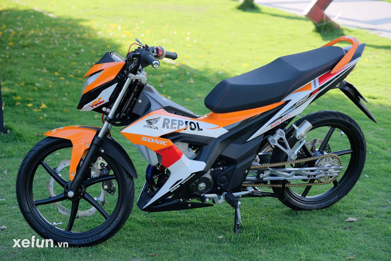 Honda sonic 150r độ trái 65 + 4 giá hơn 80 triệu đồng Xefun - 3546 r6