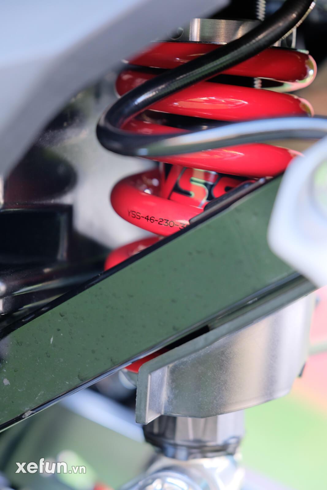 Honda sonic 150r độ trái 65 + 4 giá hơn 80 triệu đồng Xefun - 3546 656