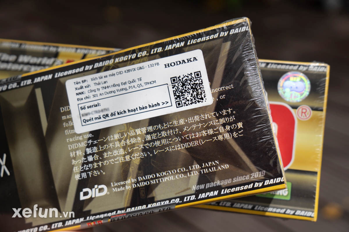 Sen DID 428 VIX Gold Xefun-5 234