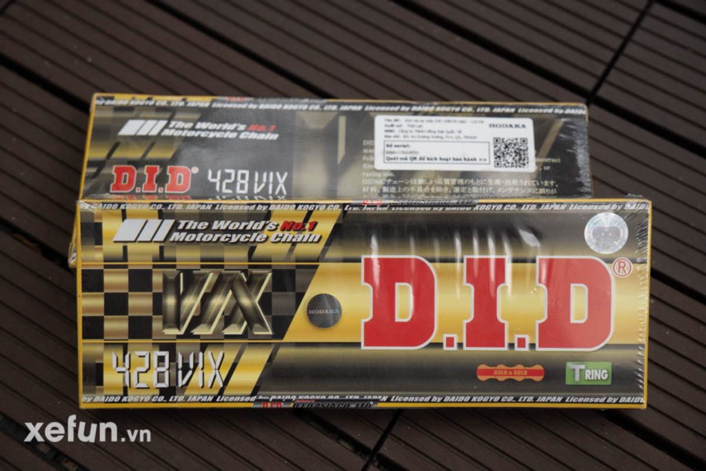 Sen DID 428 VIX Gold Xefun-5