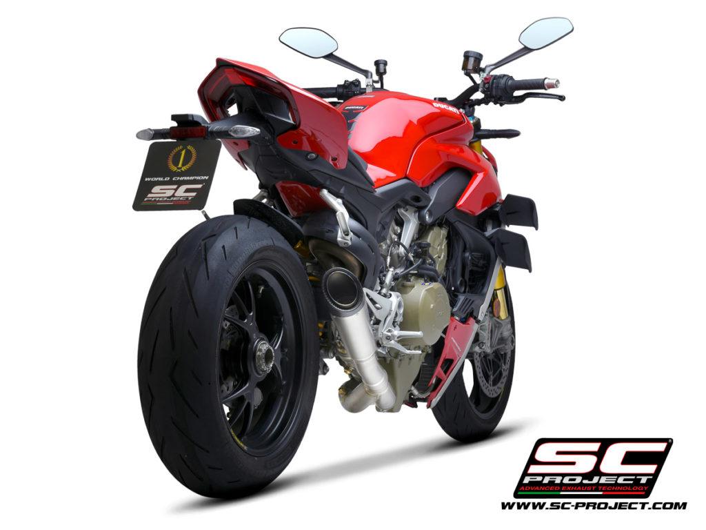 Ống xả SC Project S1 ra mắt dành cho Ducati Streetfighter V4 giảm được 7,3 kg, giá hơn 45 triệu đồng xefun - 35