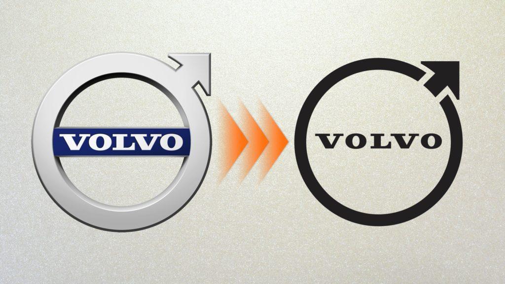 Volvo changes its logo for the electric era Volvo đổi logo mới Xefun 2334